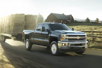 the chevy silverado 2500hd and 3500hd towing capacities