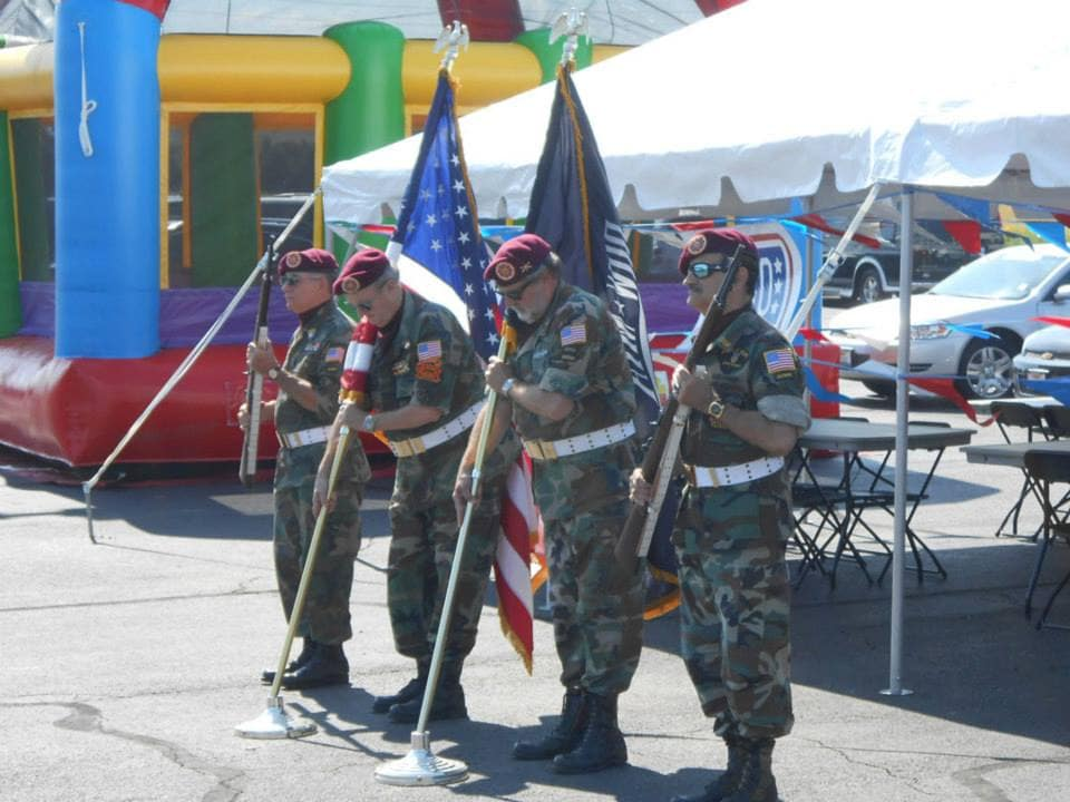 Community Involvement : USO Tent Event