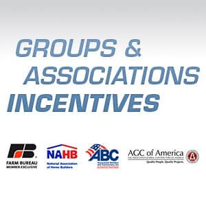 Groups and Associations Incentives