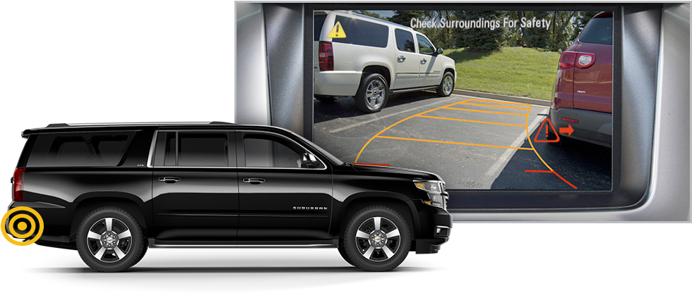 2015 Chevrolet Suburban Rear Cross Traffic Alert