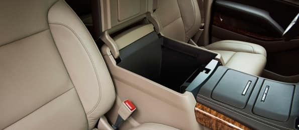 2015 Chevy Subruban Console Storage