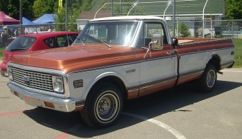 The 1971 Chevy C/10 Cheyenne one of Chevy's most popular trucks