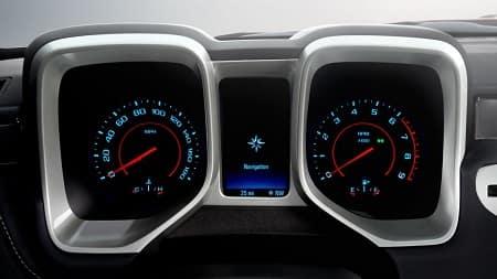 2015 Camaro Dashboard