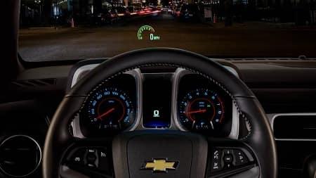 2015 Camaro Head-Up Display