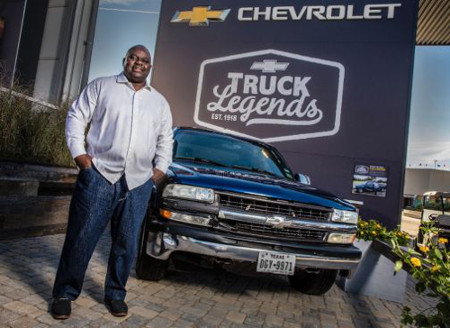 Lonzo Anderson named the Official Truck Legend of Texas