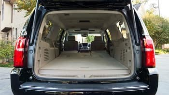 2015 Chevy Suburban Interior