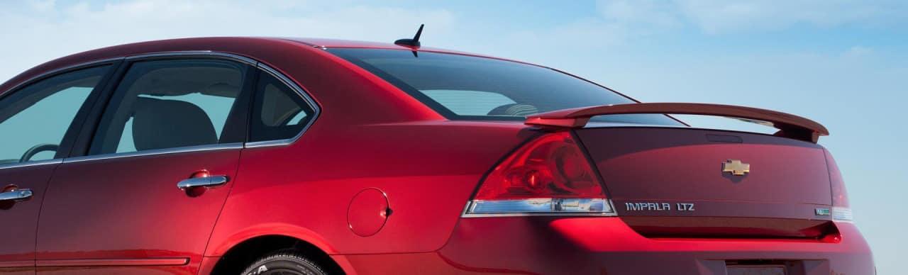 2013 Chevrolet Impala LTZ Red