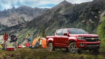 2016 Chevy Colorado Red