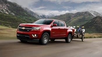 2016 Chevy Colorado Towing