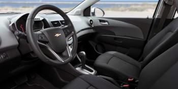 2016 Chevy Sonic Interior Cabin