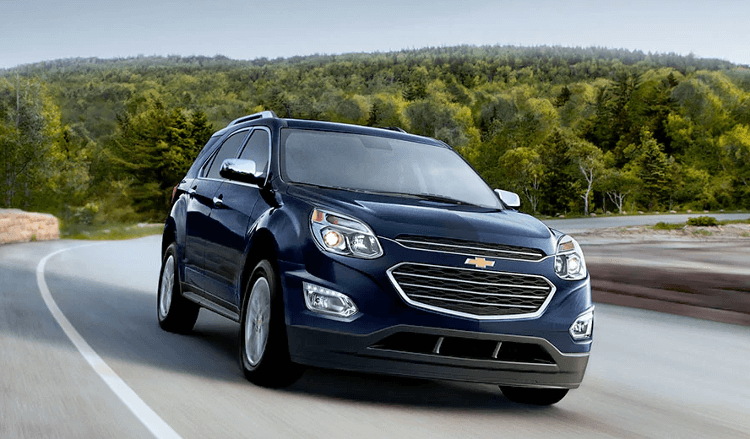2017 Chevrolet Traverse on road