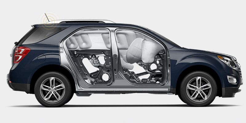 Airbags in 2017 Chevrolet Equinox