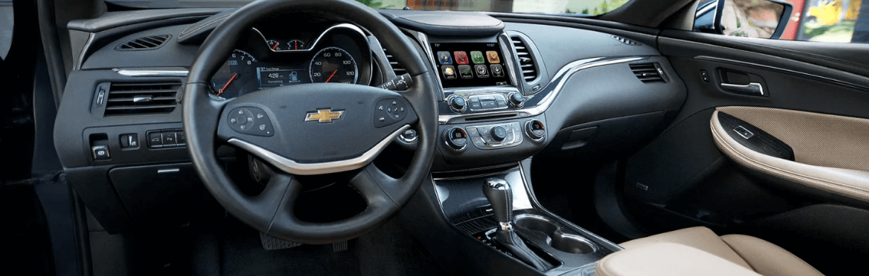 Abundant Amenities Enrich the Drive in the Impala Interior