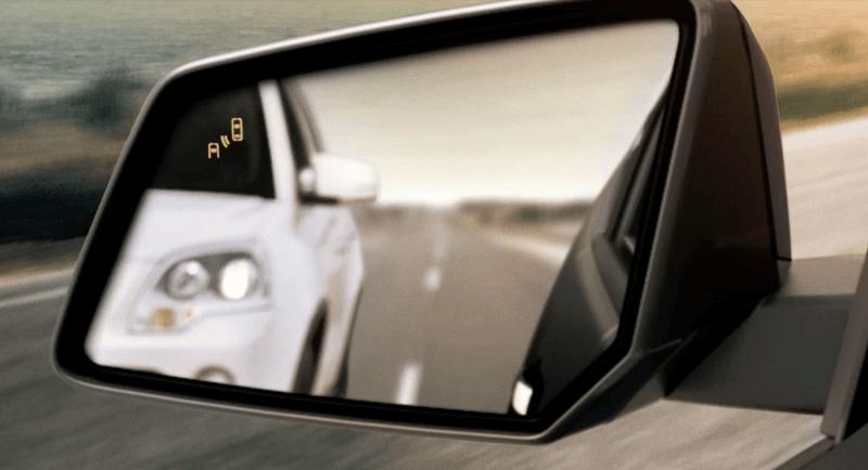 2017 Chevrolet Traverse blind zone alert