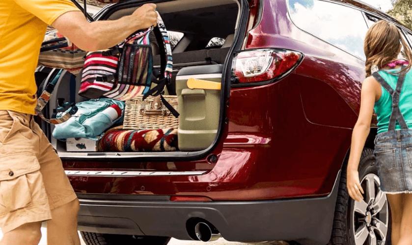 2017 Chevrolet Traverse cargo space