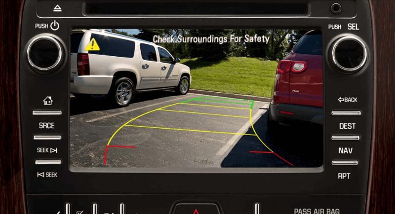 2017 Chevrolet Traverse rear camera