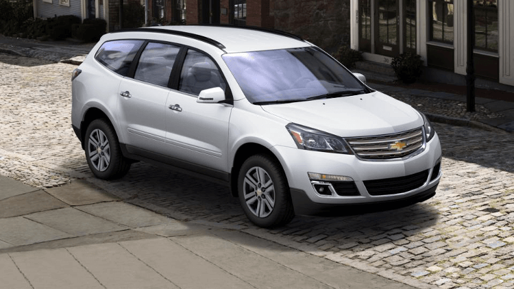 Discover the Chevy Traverse Trim Levels