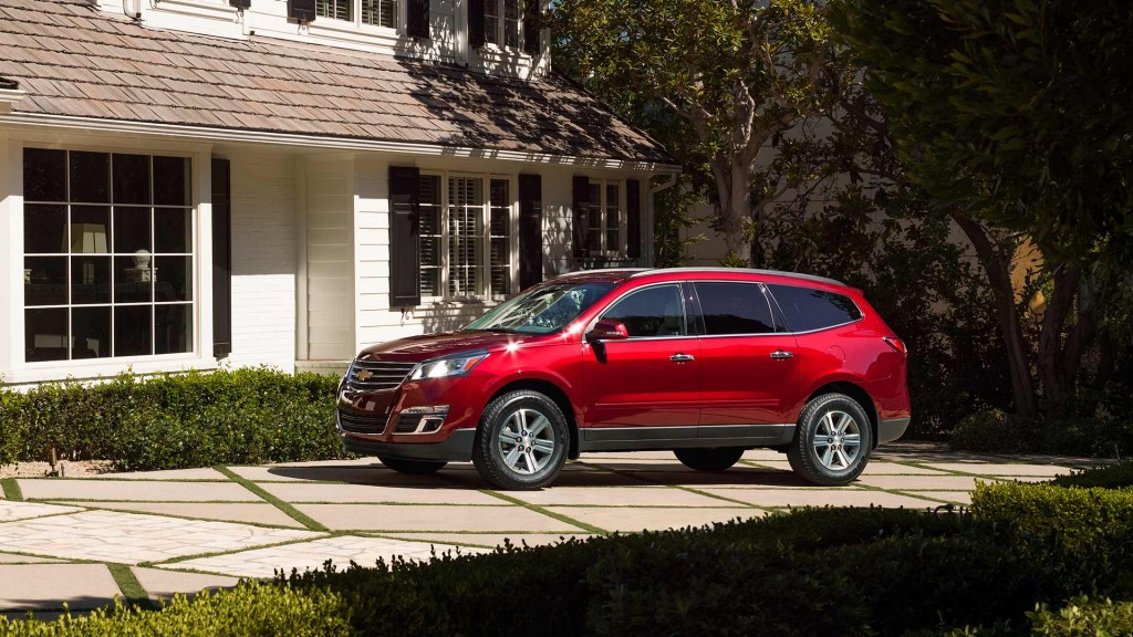 2017 chevy traverse reviews are unanimous an ideal family suv. Black Bedroom Furniture Sets. Home Design Ideas