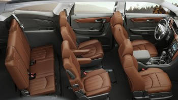 2017 Chevy Traverse Seating (Custom)
