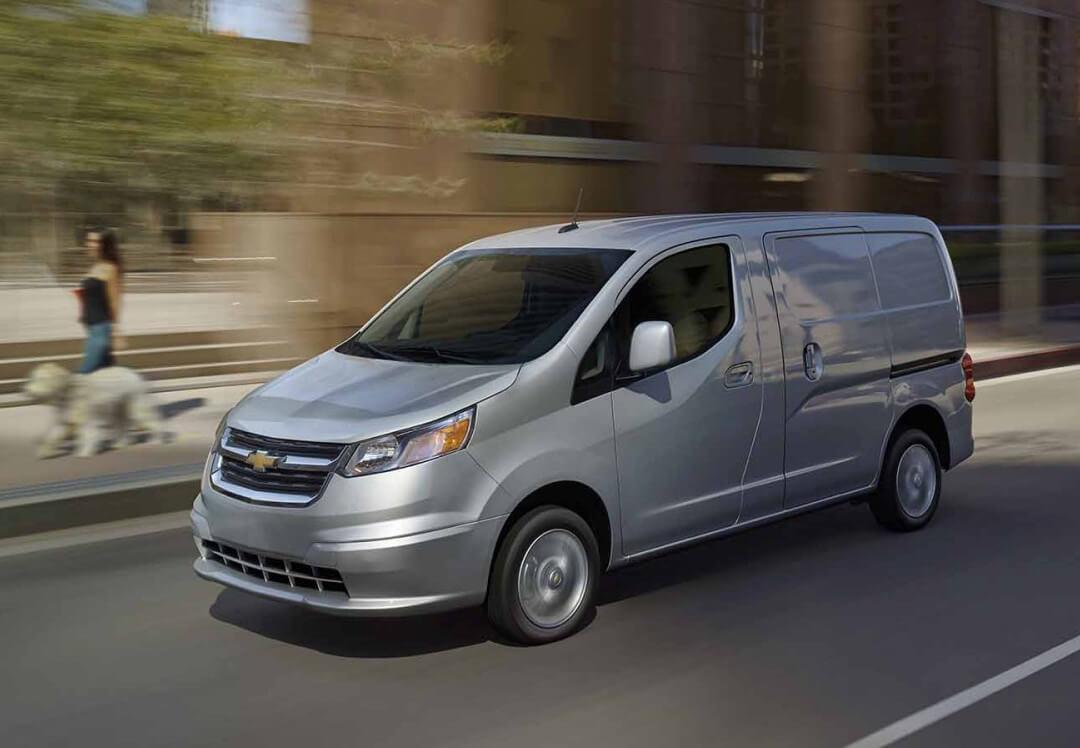 2016 Chevrolet City Express LT trim