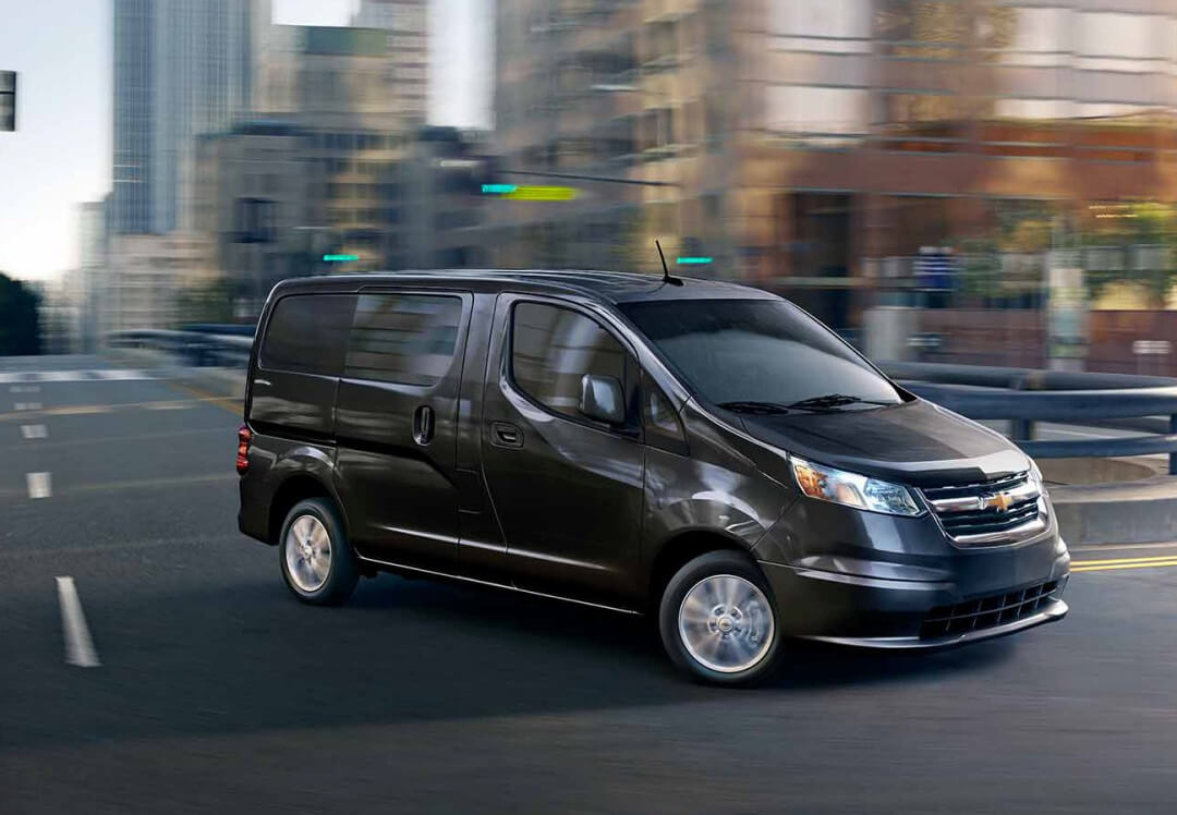 2016 Chevrolet City Express on road