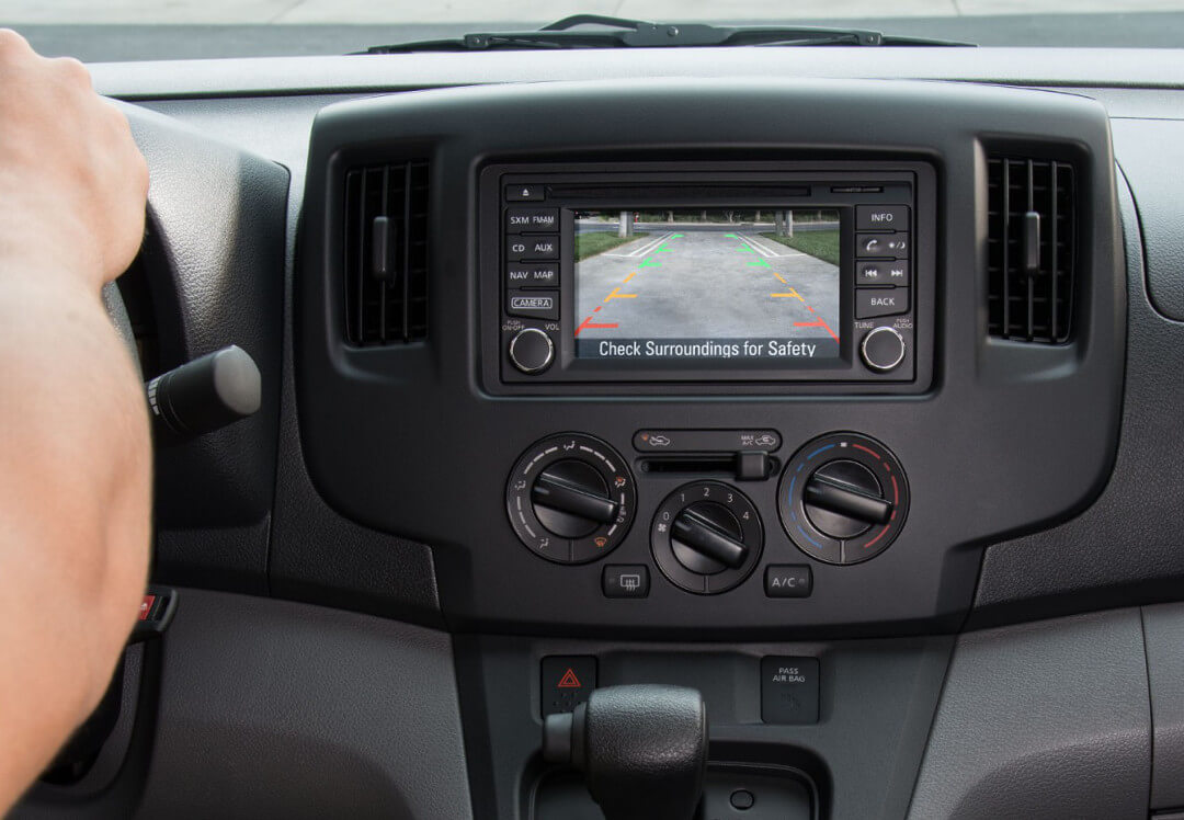 2016 Chevrolet City Express rear-camera