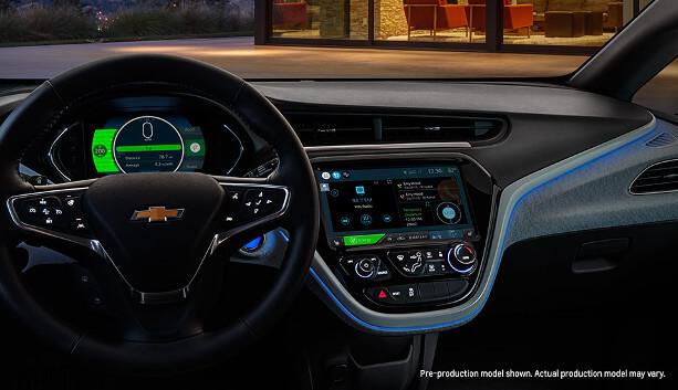 2017 Chevrolet Bolt EV interior dash