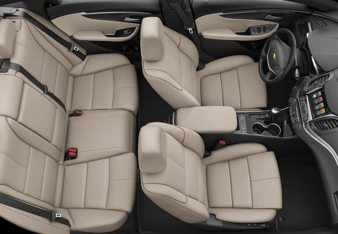 2017 Chevrolet Impala Interior