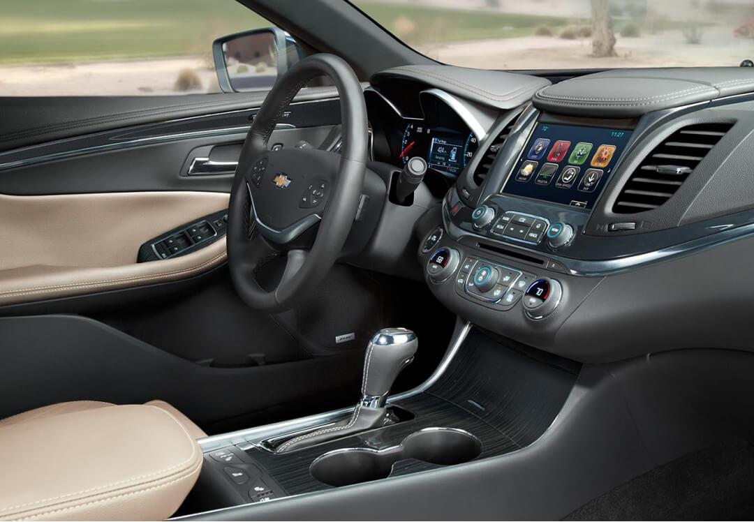 2017 Chevrolet Impala tech