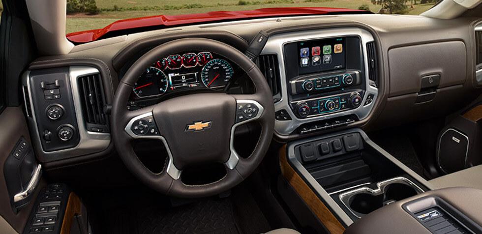 2017 Chevrolet Silverado 1500 dashboard