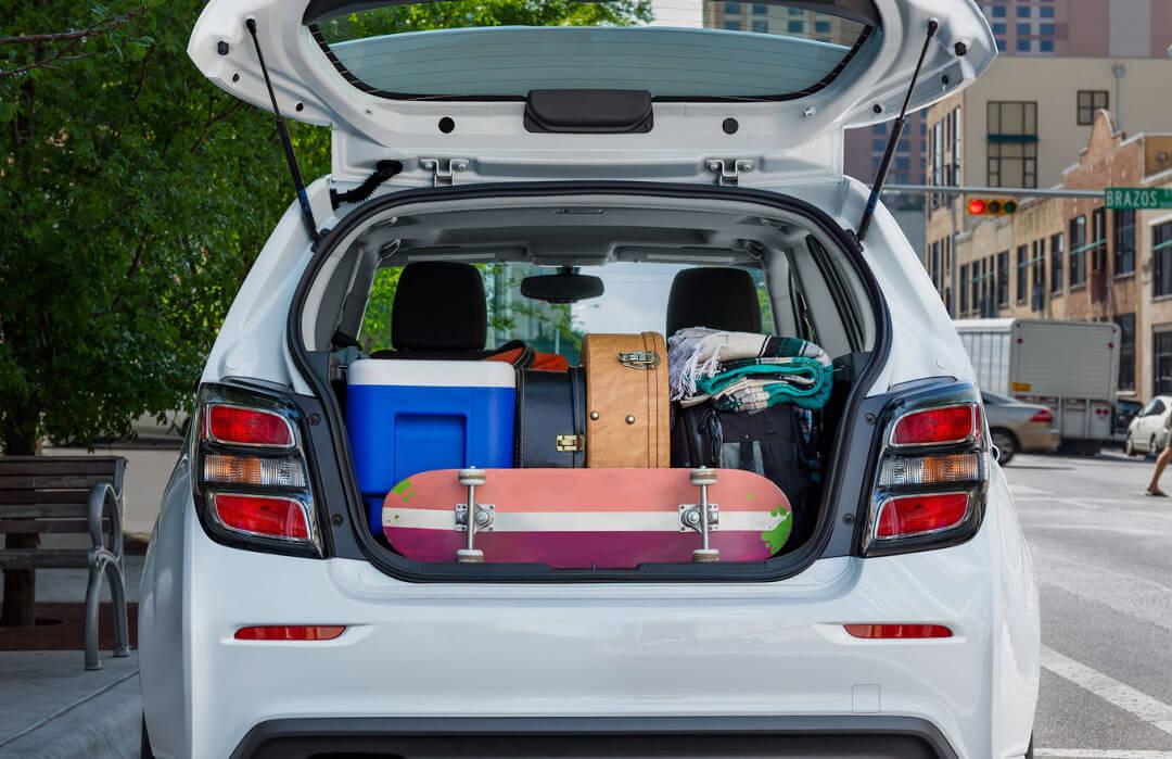2017 Chevrolet Sonic cargo space