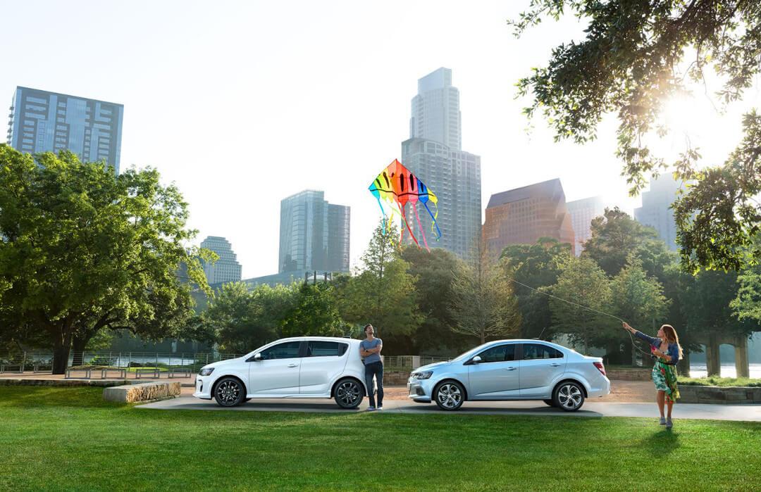 2017 Chevrolet Sonic sedan and hatchback
