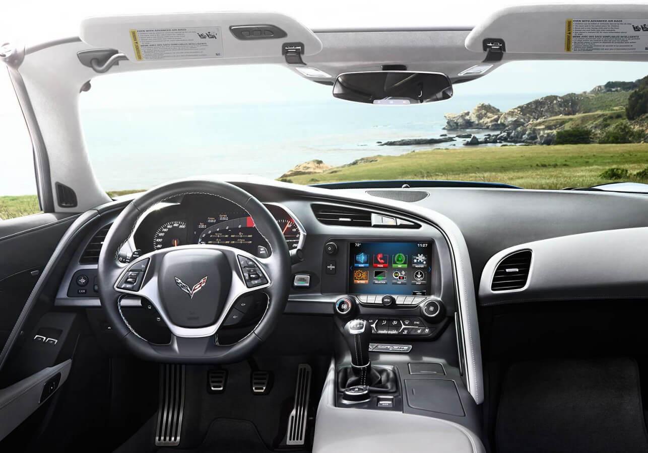 Chevrolet Corvette dashboard