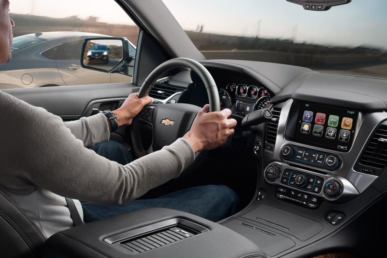 Chevrolet Tahoe infotainment