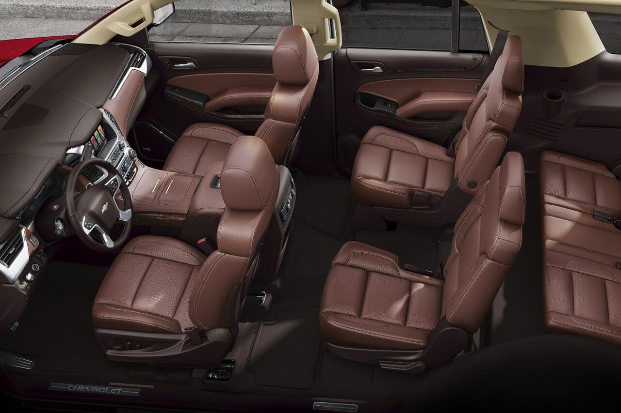 Chevrolet Tahoe leather interior