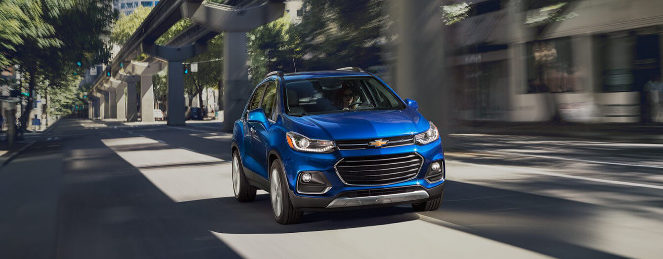 2017 Chevrolet Trax Premier on road