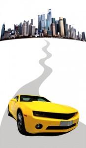 Car-Leaving-City