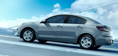 The Mazda3 utilizes SkyActiv technology to achieve its high performance and fuel economy numbers.