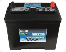 Mazda Battery Service