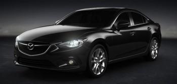 2014 Mazda6 4-door Black