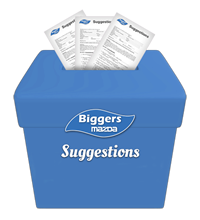 Biggers Suggestion Box
