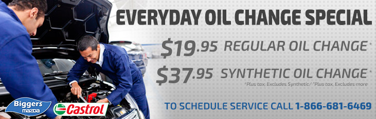 Biggers Oil Change Special