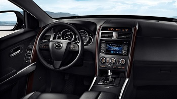 2015 Mazda CX 9 Front Interior. Read Reviews