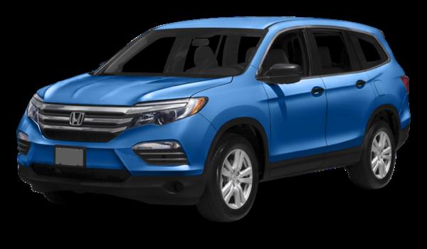 2016 Honda Pilot blue exterior