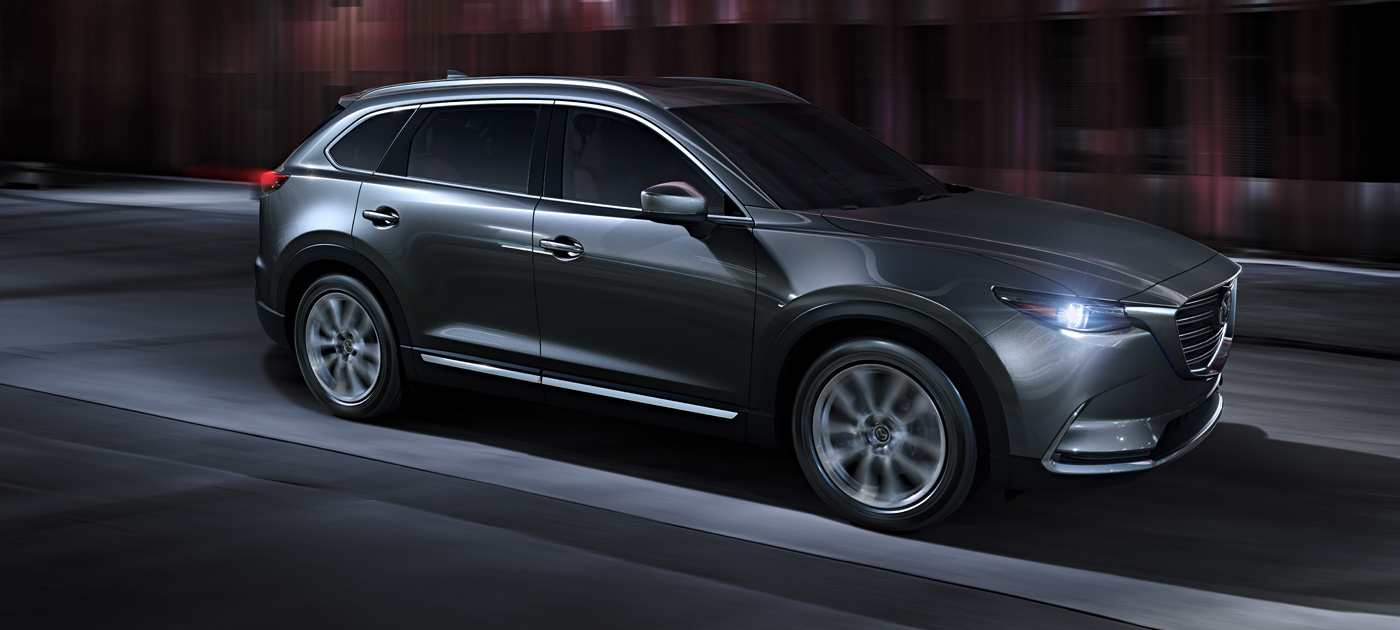 2016 Mazda CX-9 on the road