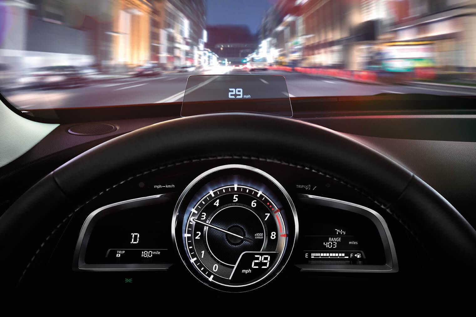 2017 Mazda CX-3 display