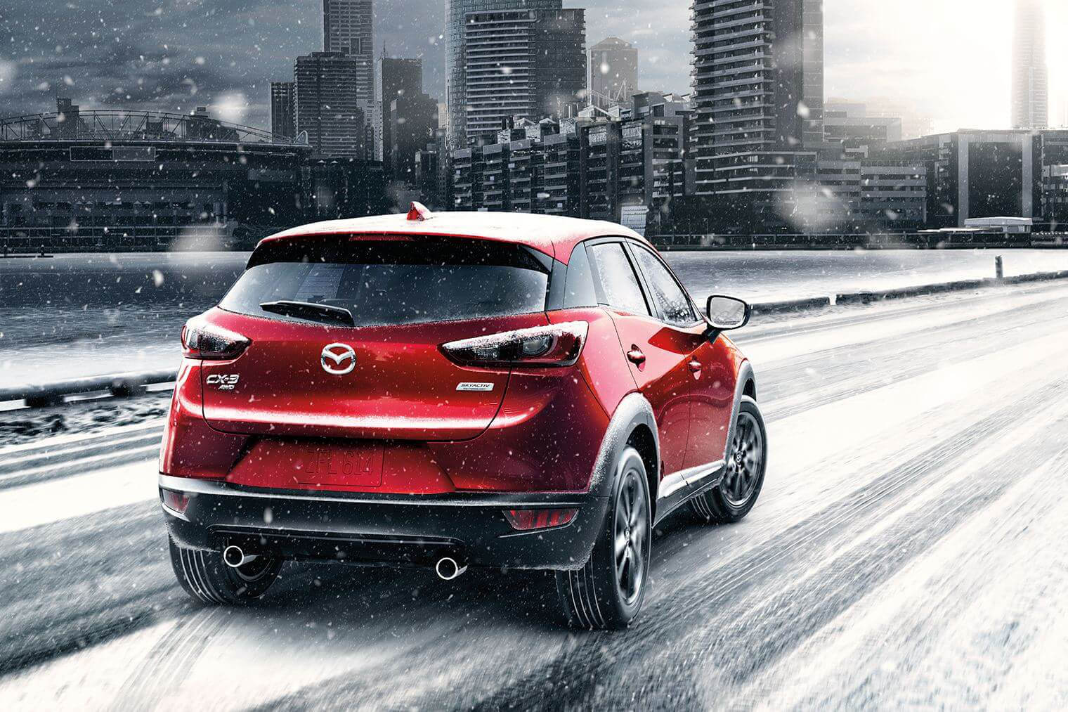 2017 Mazda CX-3 performance in snow
