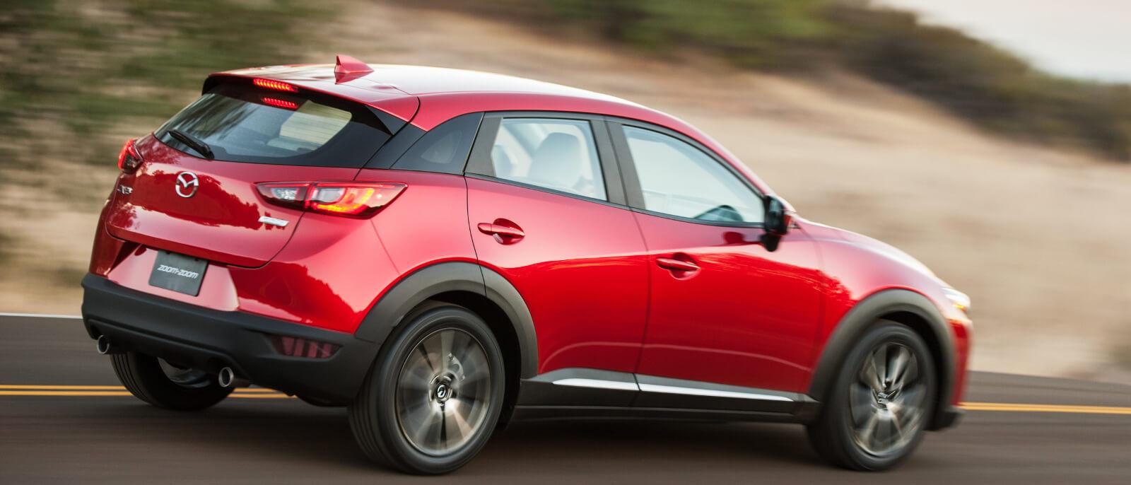 2017 Mazda CX-3 rear