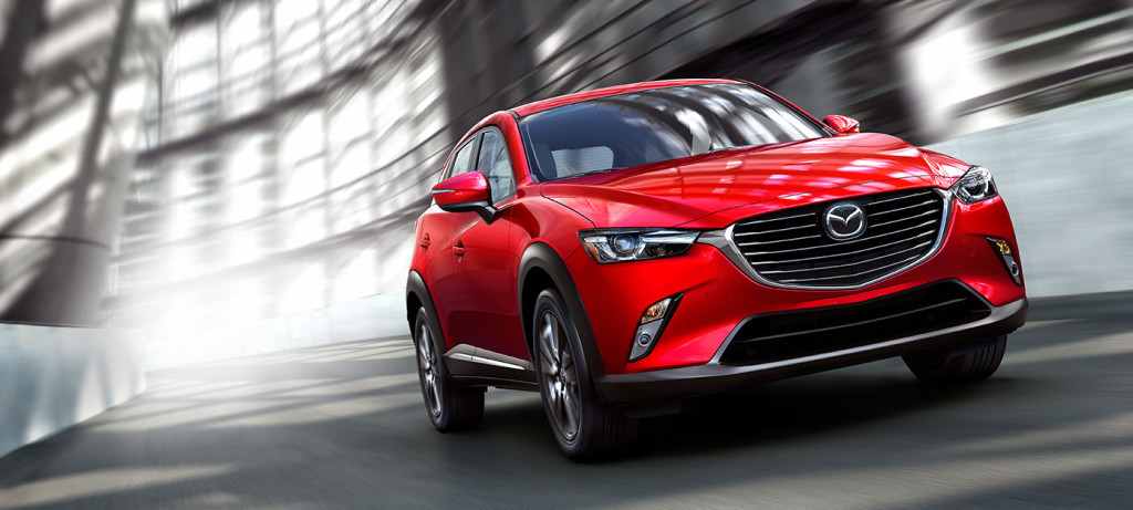 2016 Mazda CX-3 front up close
