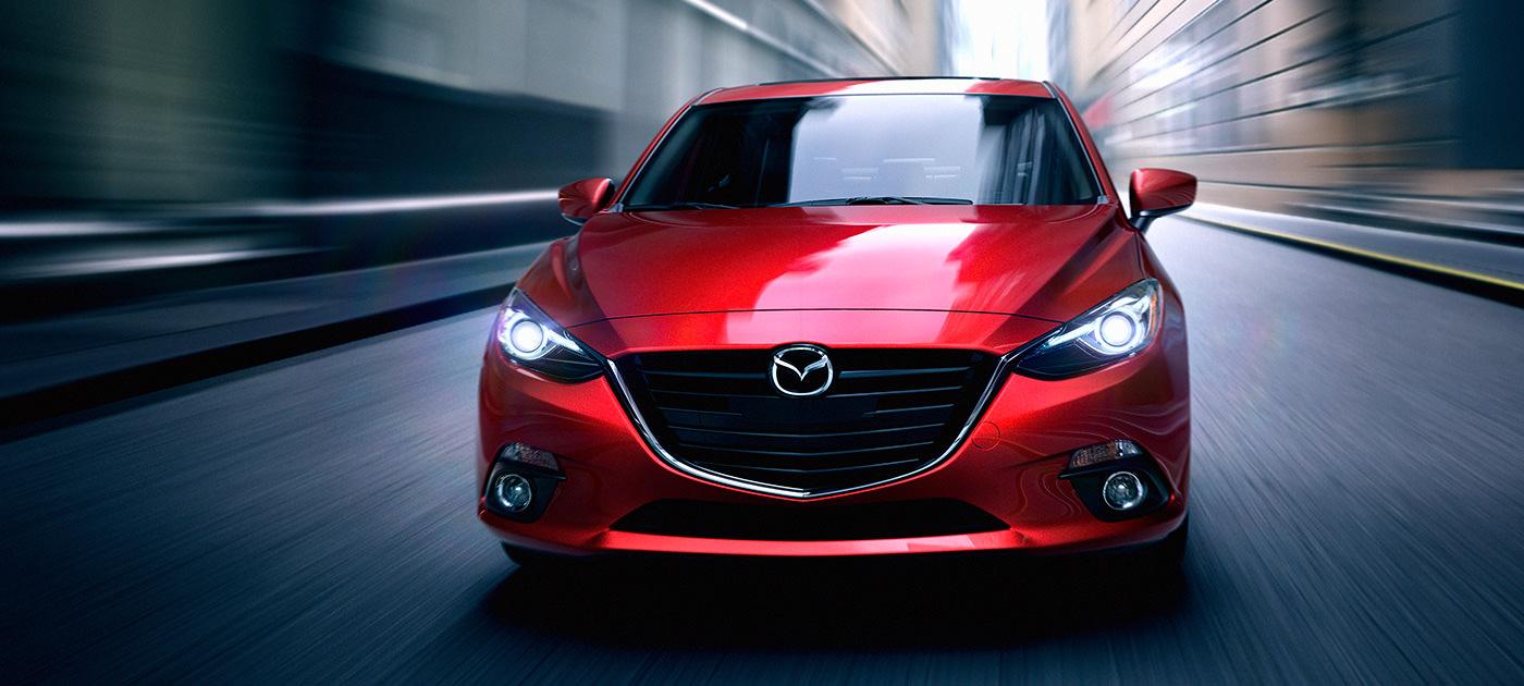 2016 Mazda 3 front